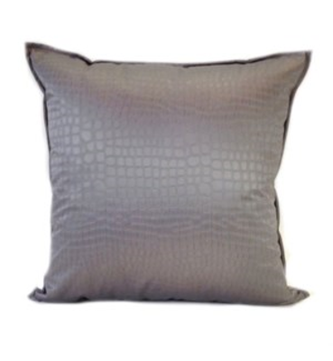 """Picture of Amazon - Pewter -  Pillow - 22"""" x 22"""""""